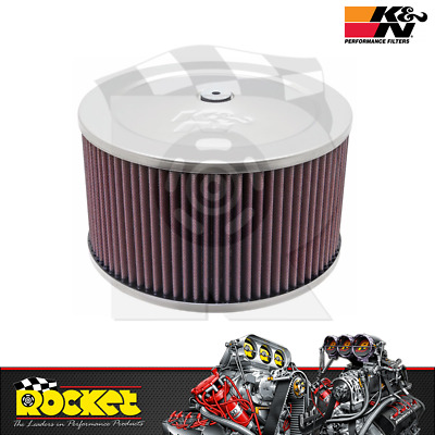 AU249.38 • Buy K&N Round Air Cleaner Assembly 9 X 5 - KN60-1366