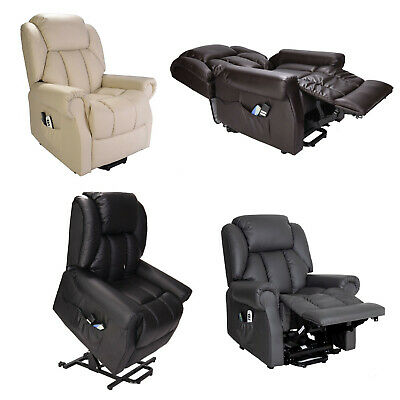 £549.99 • Buy Hainworth Dual Motor Rise Riser Recliner Chair With Heat And Massage FREE SET-UP