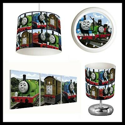 £22.99 • Buy THOMAS THE TANK ENGINE - Bedroom In A Box - Lightshade, Lamp, Clock, Canvases