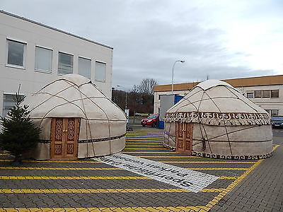 Yurt Traditional 5m 16,40' Diameter With Raincover, Location Germany Handcrafted • 4,020£