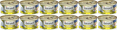 Gourmet Gold Cans 85g Chicken Pate Bulk Buy Of 12 • 8.81£