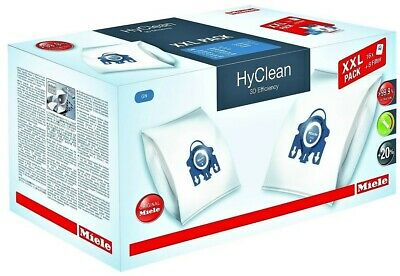 16 Pack Genuine Miele Gn 3d Hyclean Vacuum Cleaner Dust Bags With 8 Filters • 33.99£