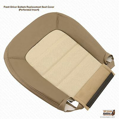 $119.50 • Buy 2003 2004 2005 Ford Explorer Eddie Bauer Driver Bottom Leather Seat Cover In Tan