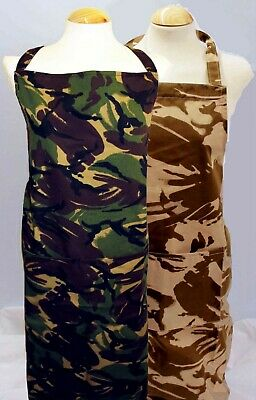 $16.66 • Buy Teenage / Small Adult Cotton Aprons ** Camouflage / Army ** Made In England