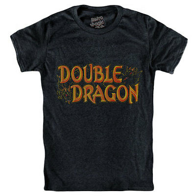 £19.69 • Buy DOUBLE DRAGON T-shirt Commodore 64 Game Gear Amiga 1987 Game Boy