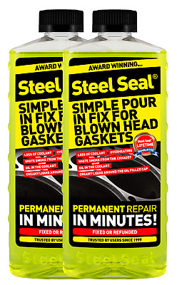 $119.99 • Buy Steel Seal Head Gasket Sealer 32 Oz For 8 Cylinder Cars - Free 2-3 Day Shipping!