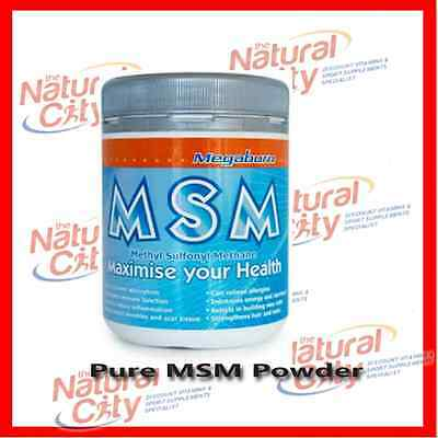 AU25.95 • Buy Megaburn Pure MSM Powder 400g Australian Made