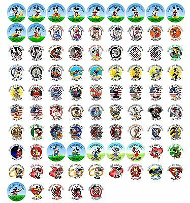 $4.49 • Buy 216 Mickey Mouse Hershey Kiss Party Labels Stickers Favors  You Pick