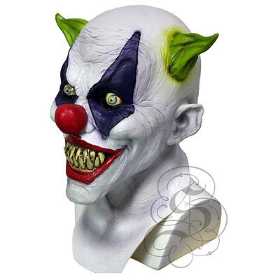 Halloween 'Franco The Silly Grin Clown' Horror Fancy Dress Costume Party Masks • 25.99£