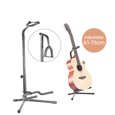 AU16.99 • Buy New Folding Electric Acoustic Bass Tripod Guitar Padded Stand Floor Rack Holder
