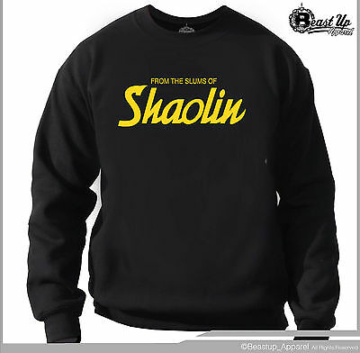 £14.18 • Buy Wu Tang Clan From  Slums Of Shaolin Crew Neck Sweater Classic Hip Hop  Hoodie