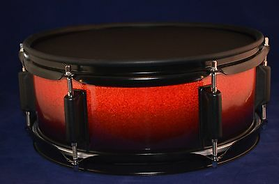 AU214.25 • Buy Laurin Snare (12  Mesh Drum Pad) For Roland / Alesis Electronic Drum - Half Red