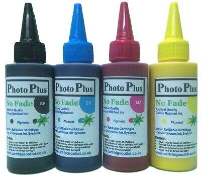 Archival Ink For SX235W Epson & 4 Colour Printers Using T1285 Series Cartridges • 5£