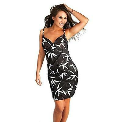 Saress Cross Over Beach Cover Up Dress - Galaxy • 7.71£