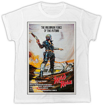 £6.99 • Buy Mad Max Movie Poster Mel Gibson Cool Birthday Present Short Sleeve Mens T Shirt