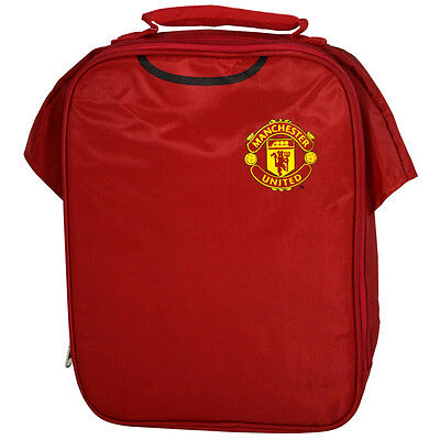 Manchester United  Fc Kit Shirt Insulated School Lunch Bag Box New Gift Xmas • 10.93£