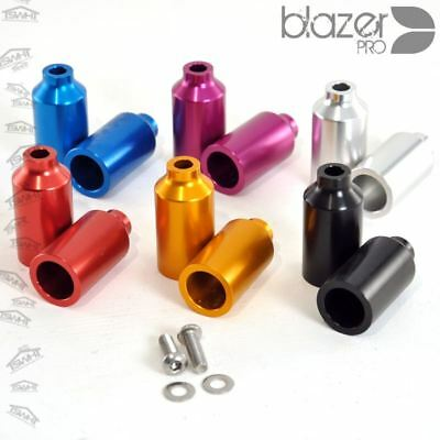 Pair Blazer Pro Canista Tapered Alloy Stunt/Axle Pegs 50mm + Free Axel Bolt! • 9.95£