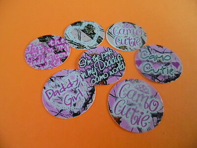 £3.13 • Buy Pre Cut One Inch Bottle Cap Images CAMO CUTIE Free Shipping