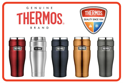 AU35.85 • Buy ❤ THERMOS Stainless King 470ml Vacuum Insulated Tumbler Flask Mug 5 Colors ❤