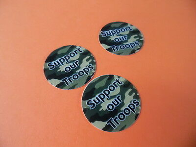 £10.96 • Buy Pre Cut One Inch Bottle Cap Images CAMO SUPPORT OUR TROOPS Free Shipping