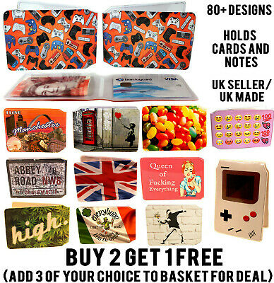 £1.99 • Buy 80+ Designs Bus Pass Wallet Credit Travel Rail Id Holder For Oyster Card Lot