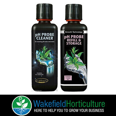 Growth Technology Ph Probe Cleaner & Refill & Storage 300ml • 15.98£