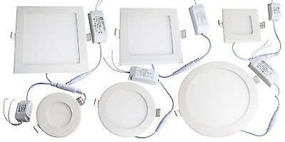 £7.95 • Buy Led Recessed Ip65 Zone 2 3 Ceiling Panel Light Downlight Bathroom Kitchen New