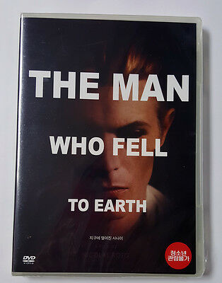 THE MAN WHO FELL TO EARTH ( DVD ) David Bowie / Region ALL • 11.59£