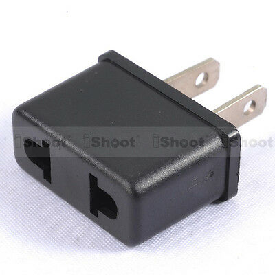 AU1.29 • Buy AU Australia EU Europe To US USA America AC Power Plug Adapter Travel Converter