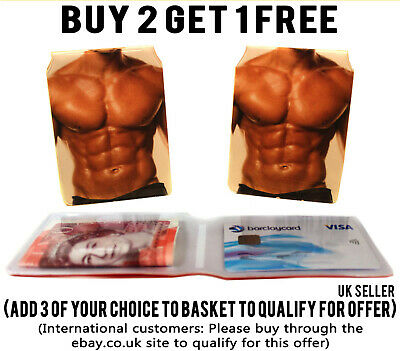 £1.89 • Buy Mens Abs Bus Pass Wallet Credit Travel Cash Rail Id Holder For Oyster Card