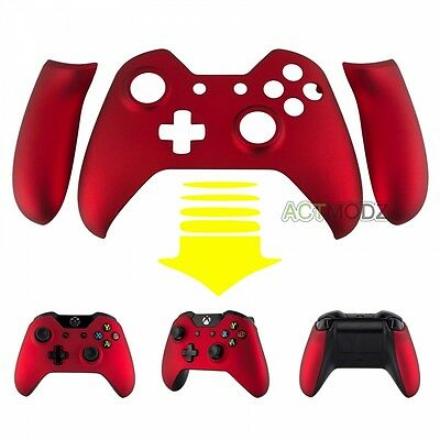 $14.41 • Buy Soft Touch Red Faceplate Front Shell Kit Panel For Microsoft Xbox One Controller