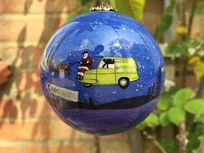 Only Fools And Horses Christmas Bauble Decoration GREAT GIFT IDEA BLUE • 9.99£