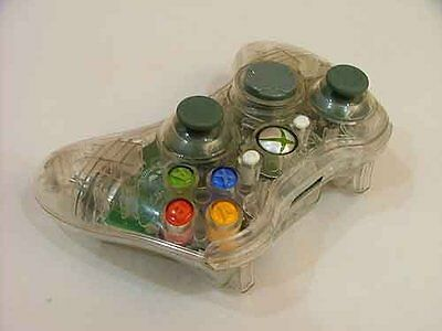 £99 • Buy White Custom Crystal Clear Wireless Controller Shell Case For XBox 360 Pad