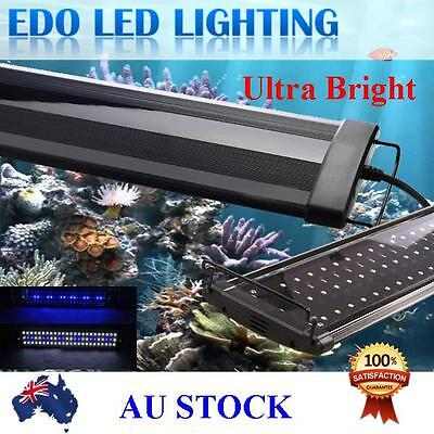AU71.25 • Buy 90 -120 CM Aquarium LED Lighting 4ft Marine Aqua Fish Tank Light