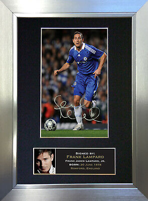 £18.99 • Buy FRANK LAMPARD Chelsea Signed Autograph Mounted Photo Repro A4 Print 38