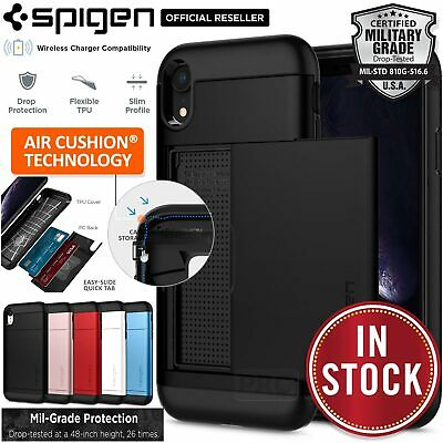 AU29.99 • Buy For Apple IPhone XR XS MAX 8 7 Plus SE 2020 Case SPIGEN Slim Armor CS Card Cover