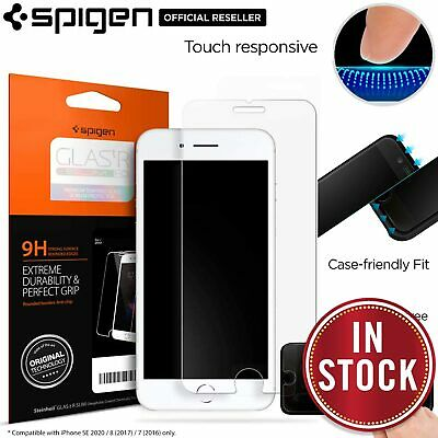 AU15.99 • Buy For Apple IPhone 8 7 Plus SE 2020 Screen Protector SPIGEN GLAS.tR Tempered Glass