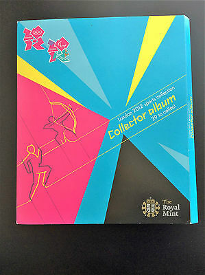 £283.19 • Buy London 2012 Olympics 50p Sports Collection Collector Album Full Mint Set