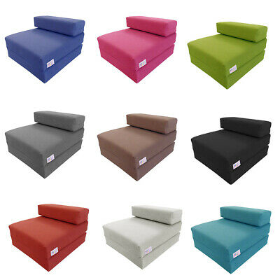 £54.99 • Buy MyLayabout Kids MEMORY FOAM Z Bed/Fold Out Spare Guest Bed/Chair/Futon/Mattress