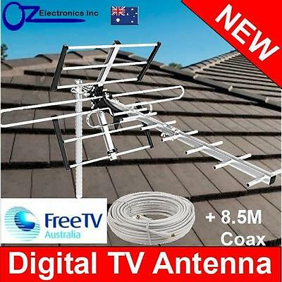 AU45 • Buy Greentek Outdoor TV Antenna UHF VHF FM 4 AUSTRALIAN Conditions City Areas NEW