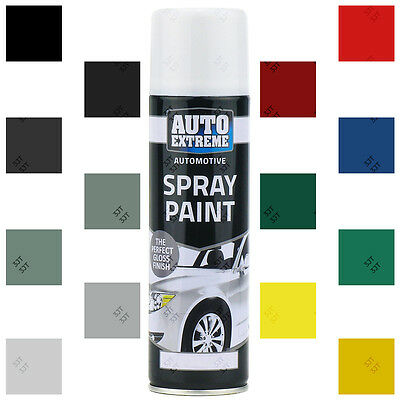 Auto Extreme Aerosol Spray Paint Satin Gloss Matt Primer Grafitti Tint 200-250ml • 5.70£