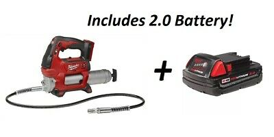 $249 • Buy MILWAUKEE 2646-20 M18 Cordless 2 Speed 18V Grease Gun Bare Tool With 5.0 Battery
