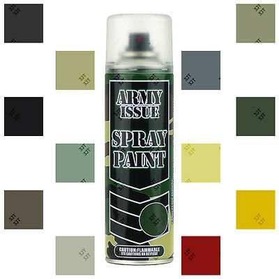 £14.67 • Buy Army Camouflage Military Combat Fishing Paintball Vehicle Spray Paint 12 Colours