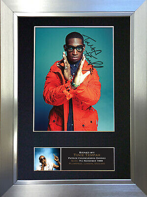 TINIE TEMPAH Signed Autograph Mounted Photo Repro A4 Print 401 • 5.99£