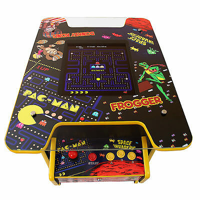 Arcade Machine 60 Retro Games Free Play/Coin Gaming Classic  Cocktail Table  • 799.99£