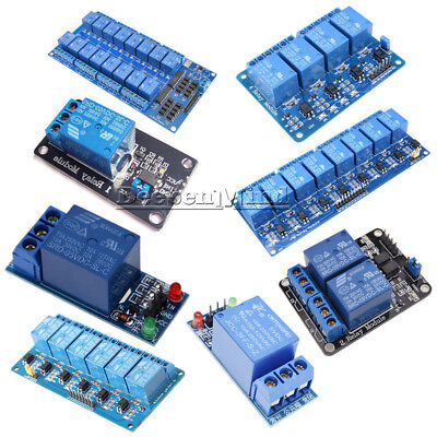 AU3.79 • Buy 5V 1/2/4/6/8/16 Channel Relay Board Module Optocoupler LED For Arduino ARM AVR