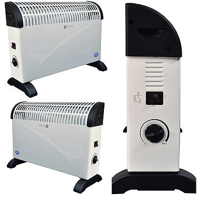 £136.95 • Buy 2 X Prem-I-Air 2kW Wall Mounted & Standing Portable Convector Radiator Heaters