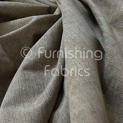 10 Meters Of Soft Matt Chenille Furnishing Upholstery Fabric Light Brown Colour • 104.99£