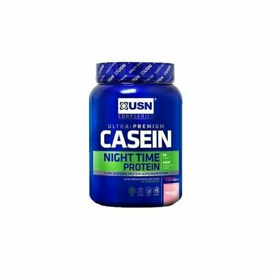 £32.99 • Buy Usn Casein Whey Protein Powder Night Time Recovery Muscle Growth Strawberry