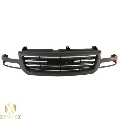 $109.51 • Buy Dark Gray Paint To Match Grille W/Black Insert For 03-07 Sierra 1500 SL SLE SLT